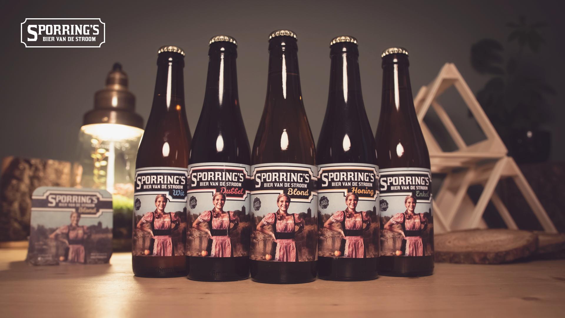 Sporrings bier Spoordonk viskwekerij de stroom